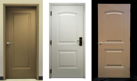 HD 1-Panel High Definition Embossed Doors & HD Embossed